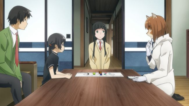 Flying Witch - Interesting method of fortune telling