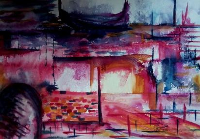 REMEMBRANCE OF WATER (watercolour)