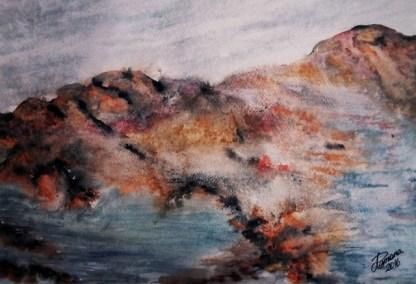Watercololur sketch, A3.