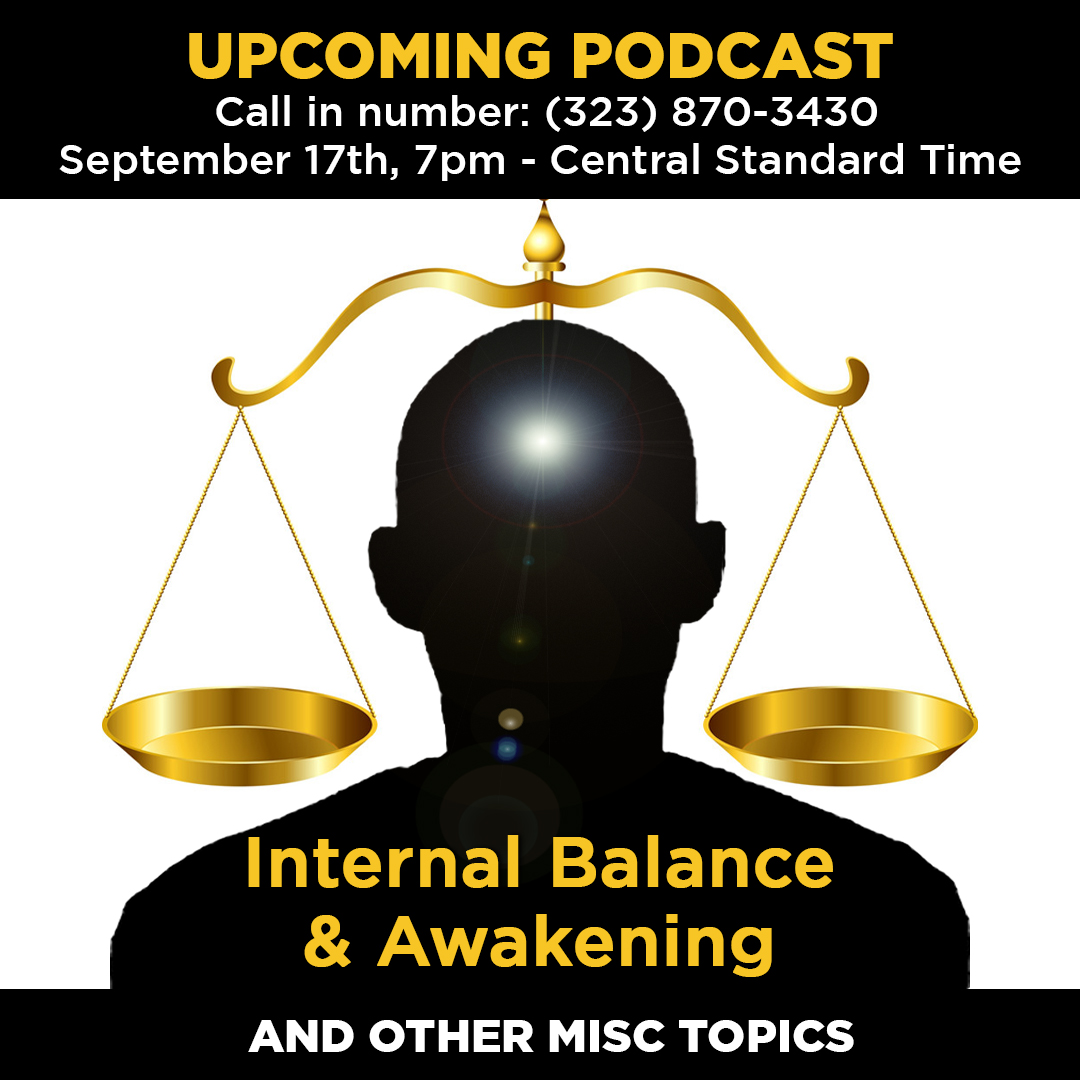 Podcast: September 17th, 2019 – Internal Balance & Awakening