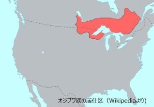 ojibuwe map