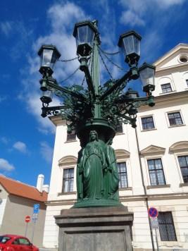 lamp at Hradčanské náměstí
