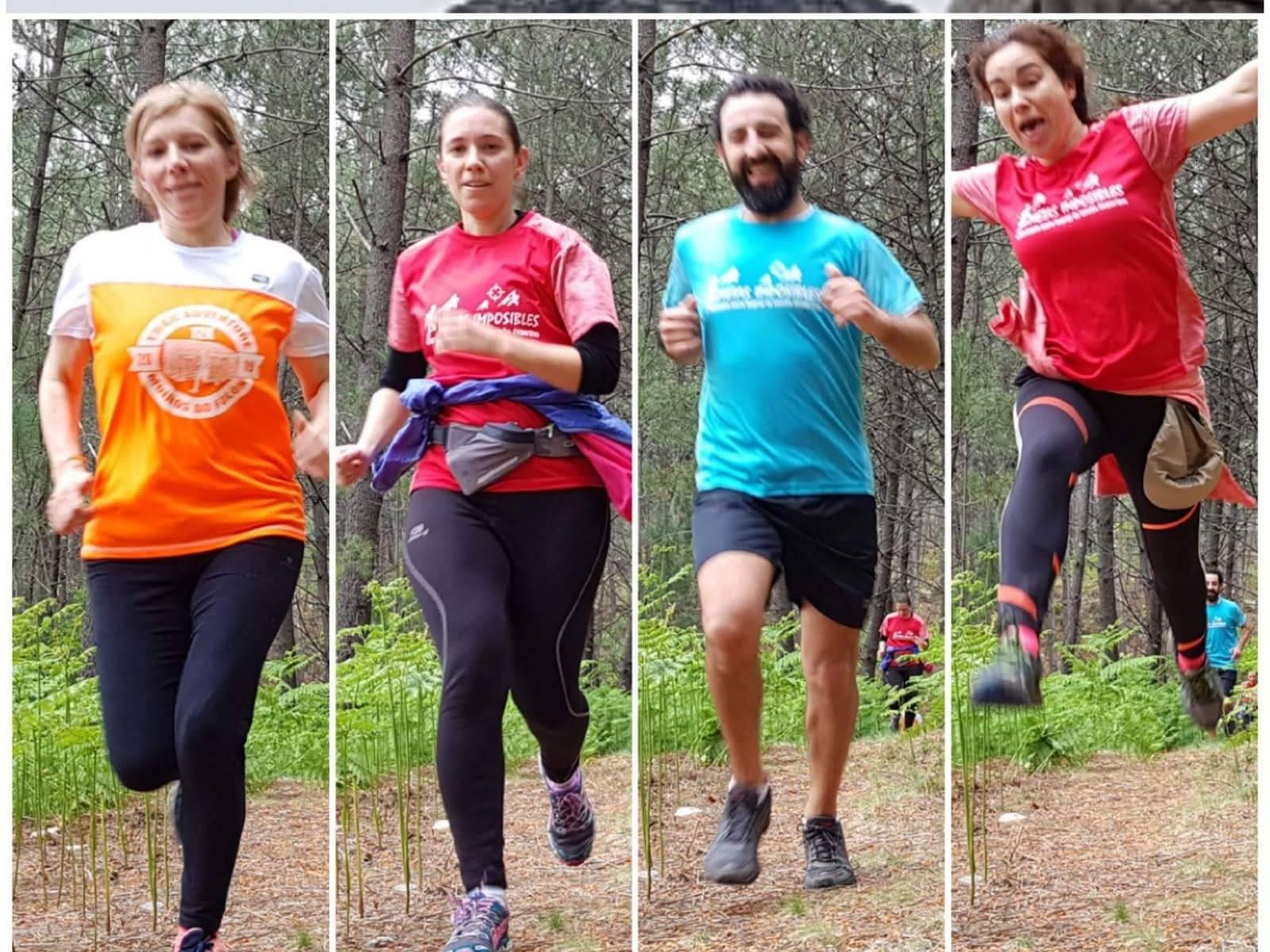 Trailrunners de metasimposibles.com por la Sierra del Galiñeiro