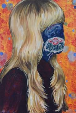 Medusa Acrylic on canvas 40 x 60 cm 2016