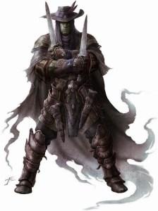 Half Orc Merc