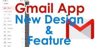 gmail app redesign