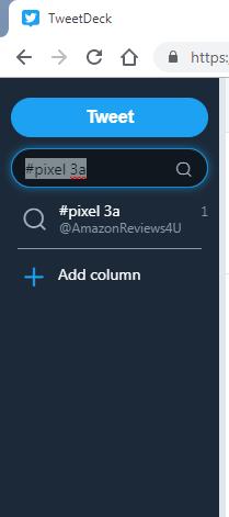Tweet Search