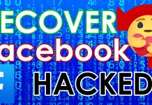 Recover hacked facebook account 2020