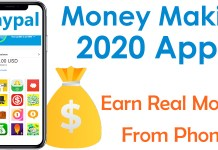 Top 6 Money making apps 2020