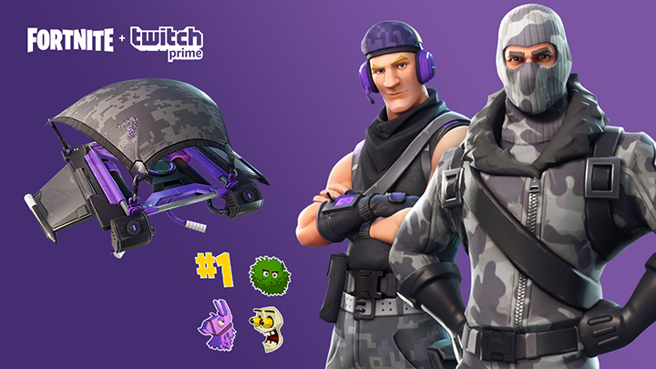 pack twitch prime fornite gratuit