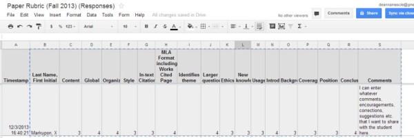 google-form-grading