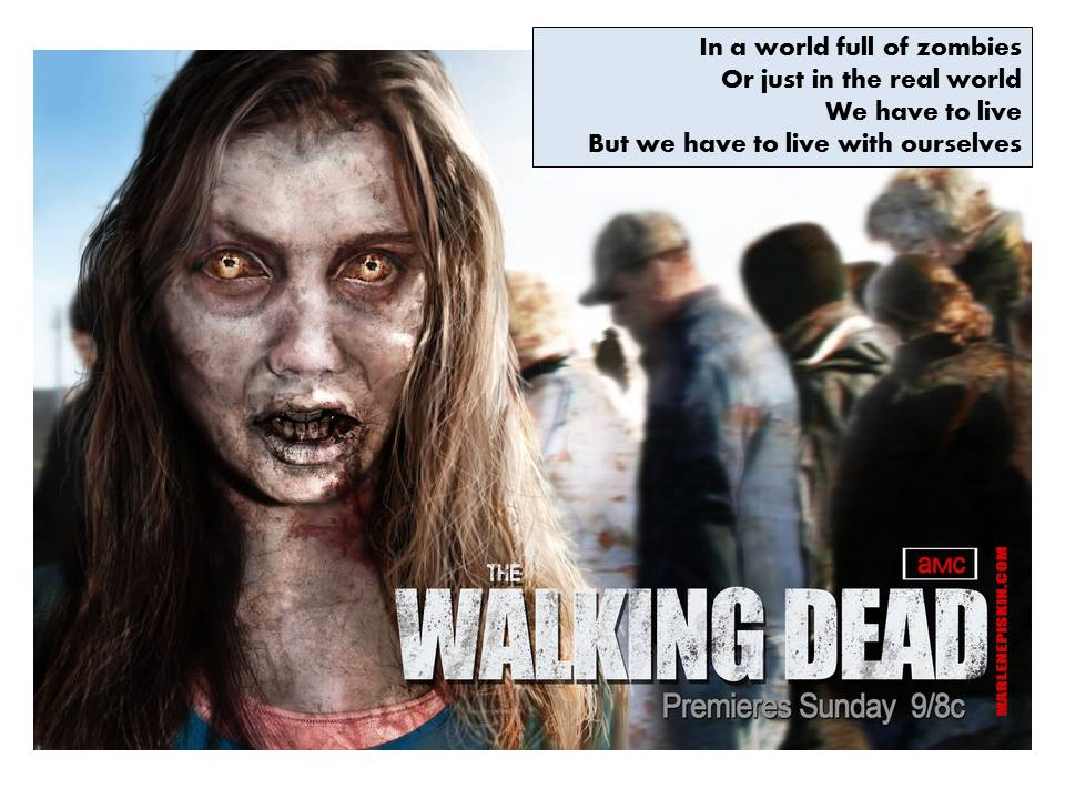 Walking Dead - we have to live with ourselves