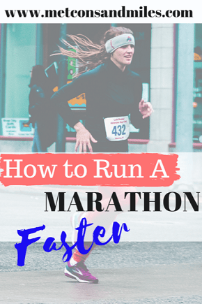 how to run a marathon faster