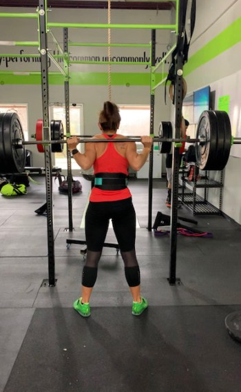 high mileage week - CrossFit lifting - strength training for runners