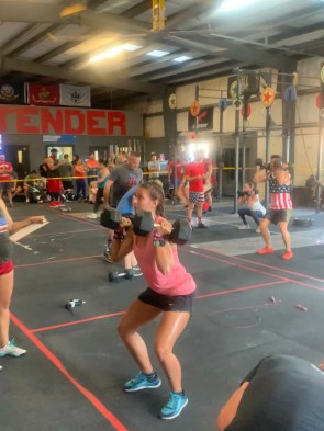 Crossfit workout  - crossfit community - crossfit WOD - strength workouts for runners