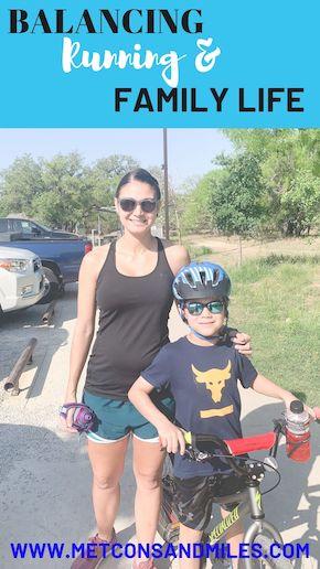 balancing running and family life