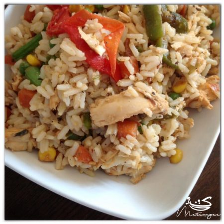 Guyanese Style Stripped Chicken Fried Rice Metemgee