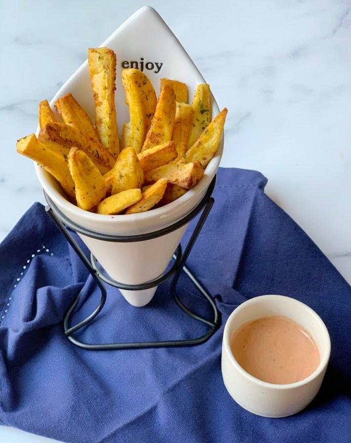 Seasoned Plantain Fries