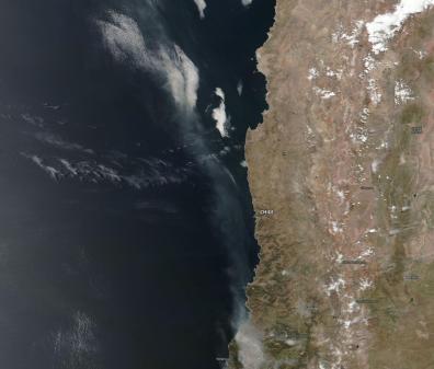 Imagen Aqua-MODIS