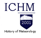 International Commission for the History of Meteorology Logo