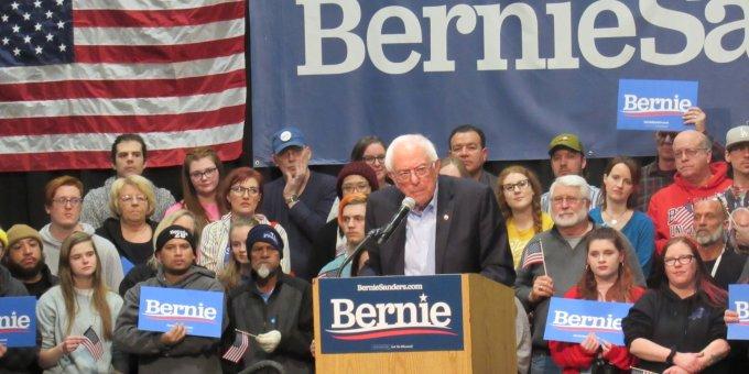 Senator Sanders in Iowa