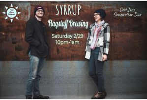 Syrrup (Memphis), The Rare Occassions, and Summer Alicia @ Flagstaff Brewing Company