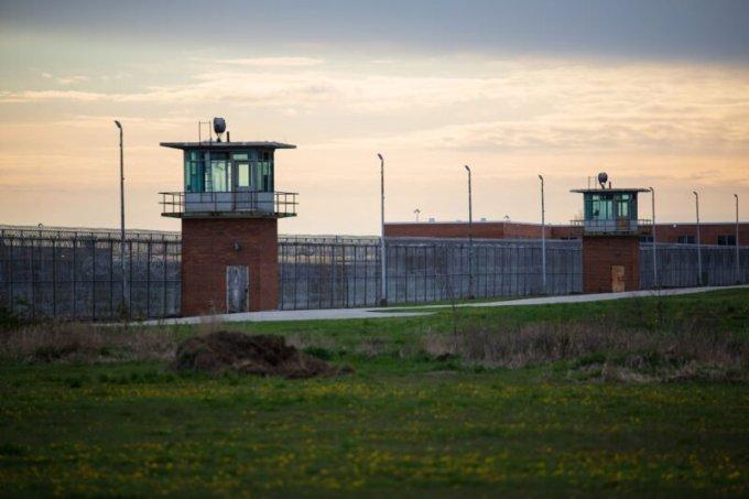 Marion Correctional Institution on April 27. (Megan Jelinger)