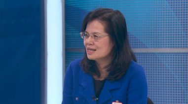 Jian Zhang, CEO of the Chinese Hospital in San Francisco, says that in late January, she began to sense that the viral outbreak in Wuhan, China, would inevitably spread to the West Coast. (CBS SF Bay Area)