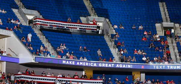 President Trump's campaign rally in Tulsa, Okla. had thousands of empty seats, thanks at least in part to the actions of teenagers who mobilized on the social media platform TikTok.