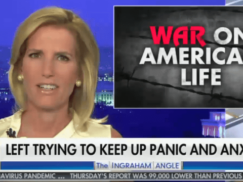 "Fox's ""The Ingraham Angle"" was responsible for a quarter of all coronavirus misinformation on the network over the five day period studied. (Photo: Fox News via MMFA)"