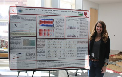 Wakefield brings home prize from Graduate Student Research and Creativity Day