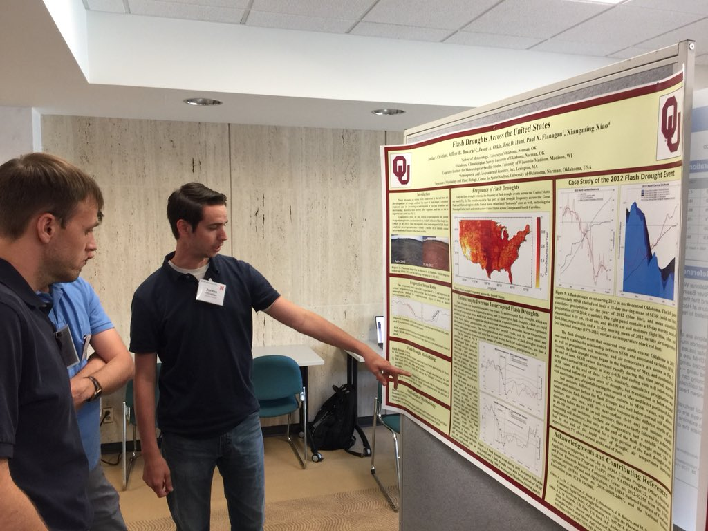 Jordan Christian Gives Invited Talk at North American Drought Monitor Forum