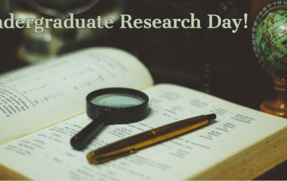 Meteorology Students Presenting at Undergraduate Research Day