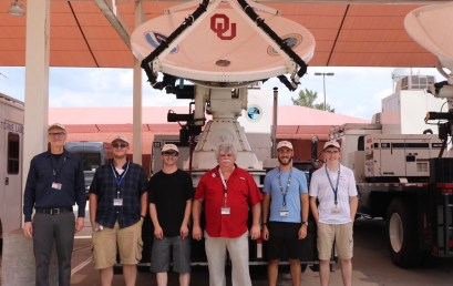 OU Researchers Deploy to Hurricane Dorian