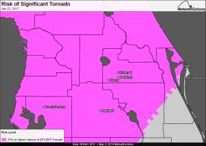 Significant Tornado Risk