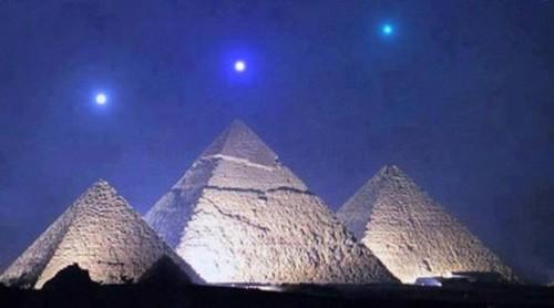 Giza, Pirámides, Alineación, Los planetas