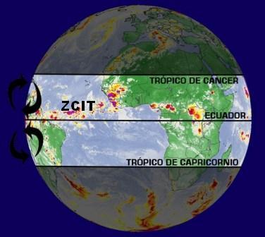 Según estudio, la Zona de Convergencia Intertropical se ha desplazado más al Norte