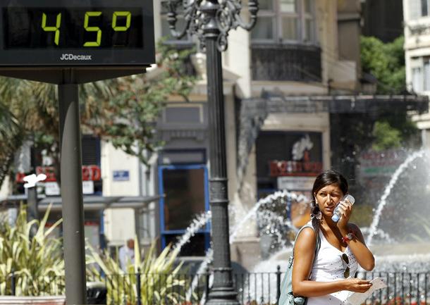 Aumentará significativamente las olas de calor durante las próximas décadas