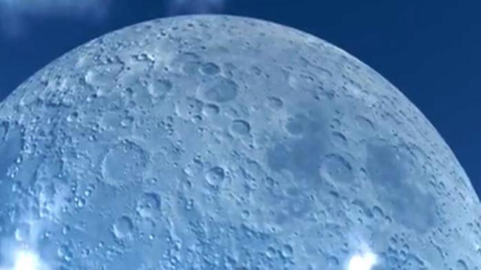 En espectacular video, cómo se vería La Luna a la misma distancia de la Estación Espacial Internacional?