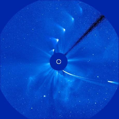 Secuencias del cometa Ison