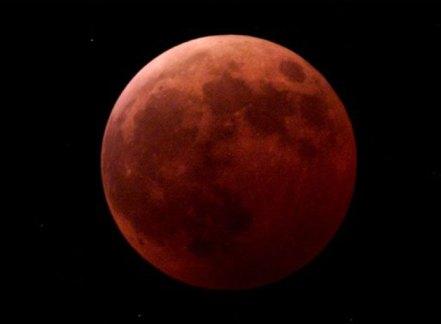 Imagen de ejemplo de como se verá La Luna