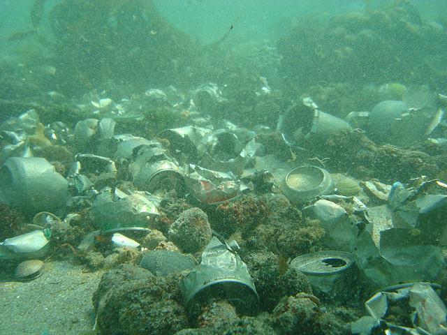 La basura generada por el hombre se apodera hasta del fondo del Mar