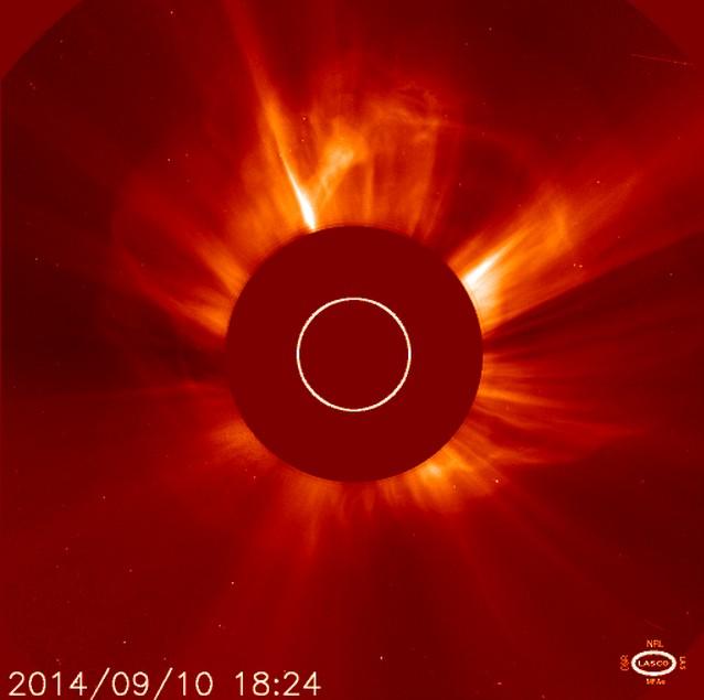 A la espera de una tormenta geomagnética por fuerte llamarada solar de ayer ¿Qué es todo ésto?