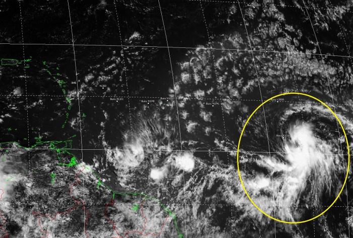 Se ha formado la Depresión Cuatro, posible Tormenta y Huracán Danny con ruta al Caribe