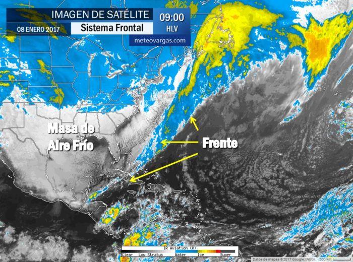 Intenso Frente meteorológico se ha prolongado hasta El Caribe ¿Qué podemos esperar de éste sistema?