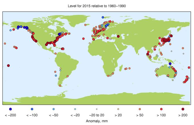 Increíble! Ésta animación muestra como se ha incrementado el nivel de mar en las últimas décadas