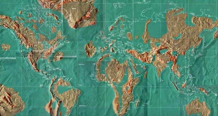 ¿Cómo quedaría el Mundo después de una catástrofe? Predicen posible mapa apocalíptico