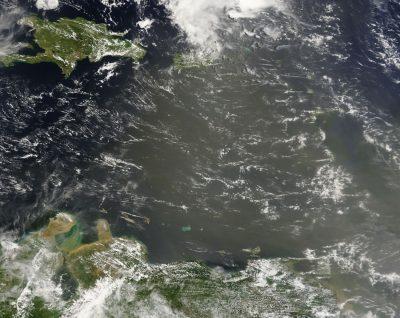 Ocurre actualmente ¿Sabías que hasta El Caribe nos llega polvo desde el desierto de Sahara? ¿Cómo nos afecta éste fenómeno?