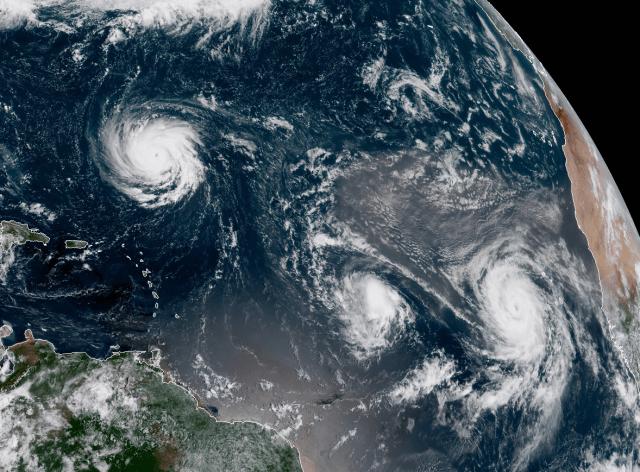 21 ciclones tropicales se formaron durante septiembre 2018 en todo el planeta, uno menos que el récord establecido en 1966