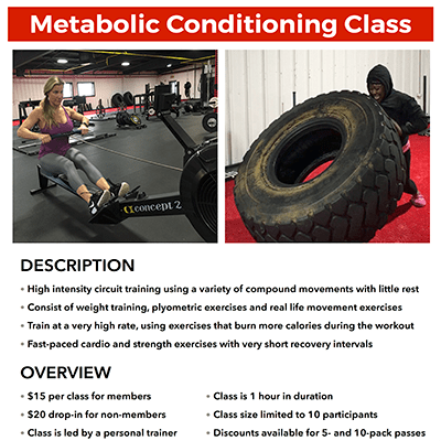 METfit Metabolic Conditioning